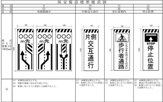 11.道路工事保安施設設置基準(案)